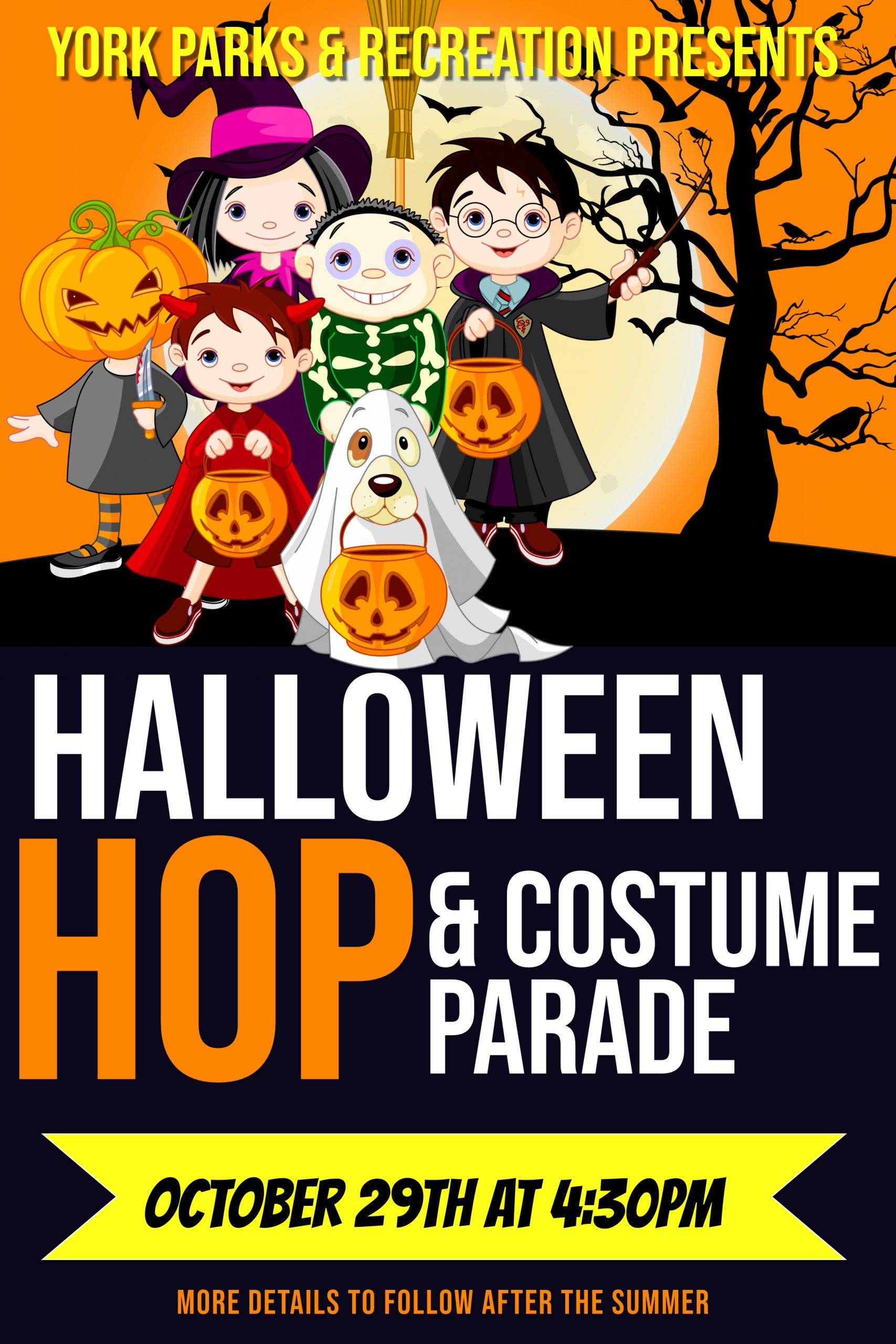 Halloween Hop October 2020 Special Events | York Parks and Recreation